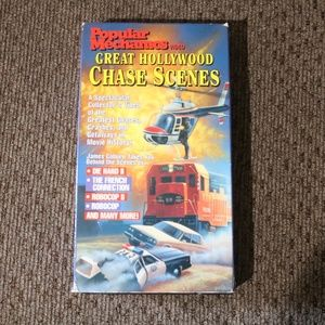 Great Hollywood Chase Scenes VHS